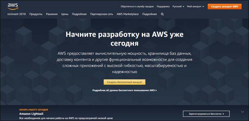 Amazon регистрация